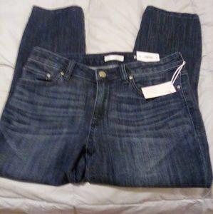 Lauren Conrad Skinny Capri Mid Rise Jeans Size 8